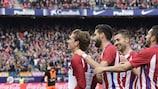 Griezmann fête 100 matches avec un but