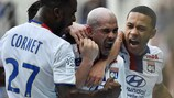 Christophe Jallet was on target for Lyon against Toulouse
