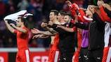 Switzerland maintain perfect record, Greece hold Belgium