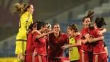 España ganó 7-0 a Bélgica en su último amistoso