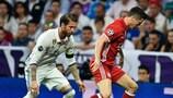 Sergio Ramos chega aos 100 jogos na Champions League
