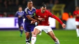 Manchester United came away from Anderlecht with a 1-1 draw