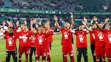 """""""Бавария"""" в пятый раз кряду выиграла чемпионат Германии"""