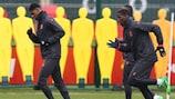 """Notícias das equipas da Europa League e """"onzes"""" prováveis"""