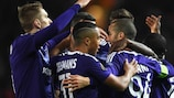 Anderlecht wieder ganz oben in Belgien