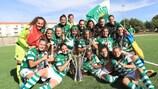 O Sporting vai marcar presença na Women's Champions League