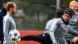 Monacos Kylian Mbappé beim Abschlusstraining
