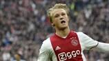 "Ajax, Dolberg: ""Contro lo United senza paura"""