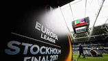 Minute's silence at UEFA Europa League final