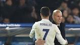 Zidane: 'Le parole non rendono giustizia a Cristiano Ronaldo'
