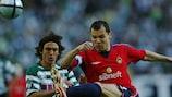 Sporting CP verlor das Finale im UEFA-Pokal 2005 gegen ZSKA Moskau