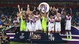 El Lyon igualó el récord del Frankfurt de cuatro títulos la pasada temporada
