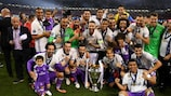 Real Madrid's UEFA Champions League dominance is reflected in the rankings