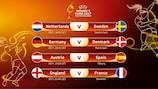 Women's EURO quarter-final line-up confirmed