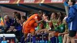 A Holanda mostrou as suas intenções no jogo de abertura
