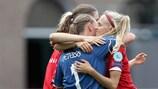 Grandes sorpresas de la EURO femenina