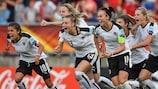 Austria are in their first semi-final; Denmark their sixth