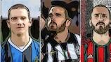 Bonucci ma non solo: chi ha giocato con le tre grandi?