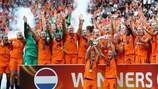 L'Olanda festeggia il trionfo a UEFA Women's EURO 2017