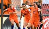 Die Niederländerin Sherida Spitse traf im Endspiel zum 3:2 gegen Dänemark