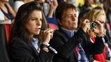 Technical observers at UEFA Women's EURO 2017: Patricia González and Anne Noé