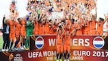 Netherlands win first Women's EURO title after final thriller