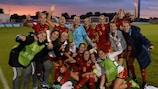 L'Espagne célèbre sa qualification pour les demi-finales