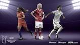 Harder, Marozsán e Martens nomeadas para o prémio feminino