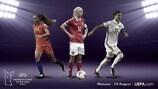 Harder, Marozsán y Martens, finalistas del Premio a la Mejor Jugadora del Año de la UEFA