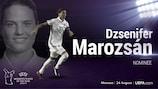 Sarò Dzsenifer Marozsán la vincitrice del premio UEFA di Calciatrice dell'Anno?