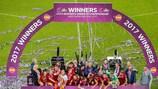 Sorteggio turno elite EURO Under 19 Femminile