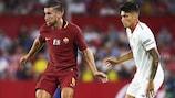 El Sevilla venció a la Roma por 2-1 en un amistoso reciente