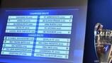 Il sorteggio degli spareggi di UEFA Champions League
