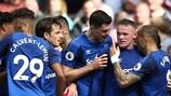 Wayne Rooney marcó en su segundo debut con el Everton frente al Stoke el pasado sábado