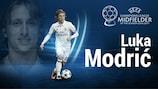 Luka Modrić eleito Médio da Época da #UCL