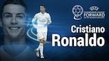 Cristiano Ronaldo named #UCL forward of the season