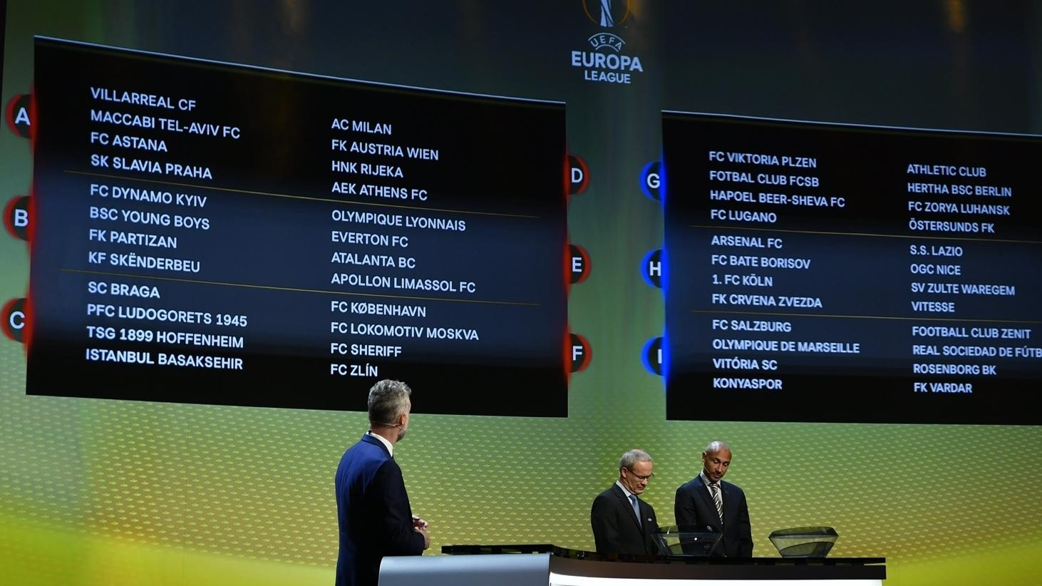 uefa europa league group stage draw uefa europa league uefa com uefa europa league group stage draw