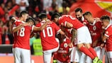 O Benfica vai tentar começar o Grupo A com uma vitória
