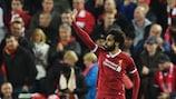 Mohamed Salah è il Giocatore della Settimana di Champions League