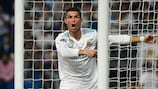 Cristiano Ronaldo celebrates against APOEL