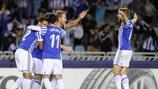 Gran victoria de la Real Sociedad por 4-0 al Rosenborg