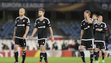 Rosenborg players dejected on matchday one