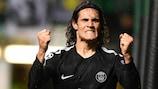 Edinson Cavani scored twice for Paris on matchday one