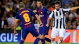 Juventus and Barcelona lock horns in a high-profile meeting on matchday five