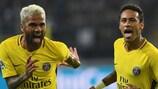 Neymar ha segnato per il PSG