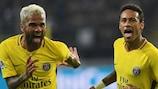 Neymar parmi les quatre buteurs parisiens mercredi