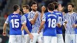 La Real Sociedad eguaglia il successo più ampio in Europa League