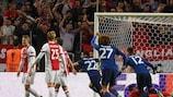 Henrikh Mkhitaryan marque en finale 2017 pour Manchester United