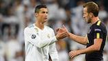Cristiano Ronaldo et Harry Kane ont tous deux marqué à Madrid