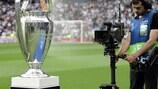 Le trophée de la Champions League